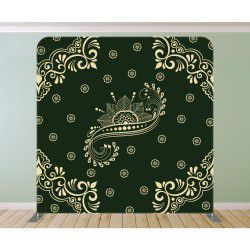 Royal Green Damask