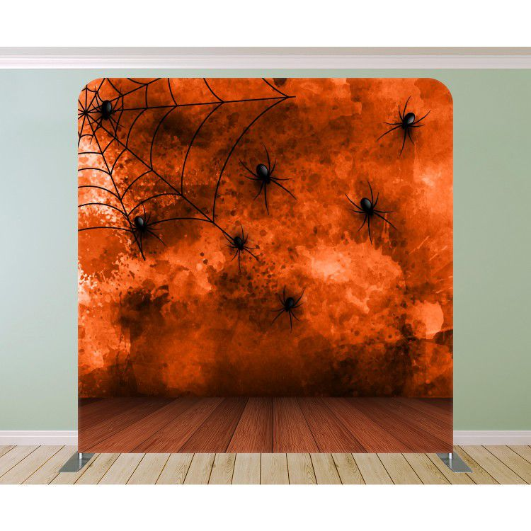 Spiders On The Splattered Wall